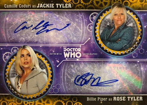 2018 Topps Doctor Who Signature Series Dual Autograph