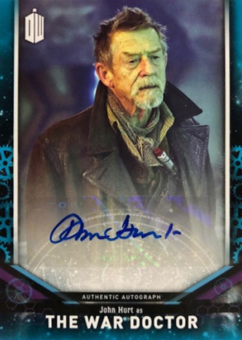 2018 Topps Doctor Who Signature Series John Hurt Autograph