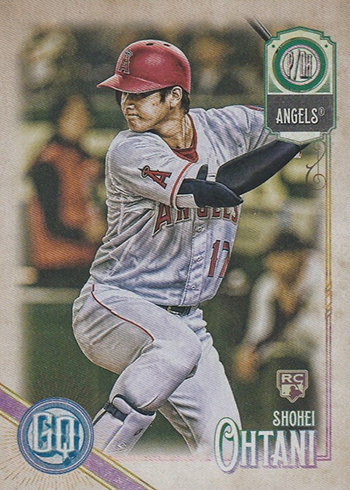 2018 Topps Gypsy Queen Shohei Ohtani RC