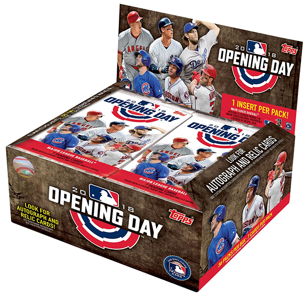 2018 Topps Opening Day Baseball Box