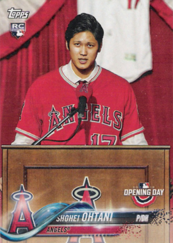 2018 Topps Opening Day Shohei Ohtani RC