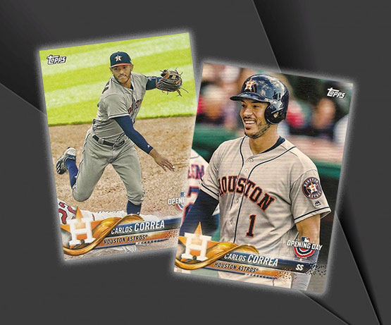 2018 Topps Opening Day Baseball Variations