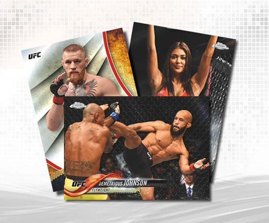 2018 Topps UFC Chrome