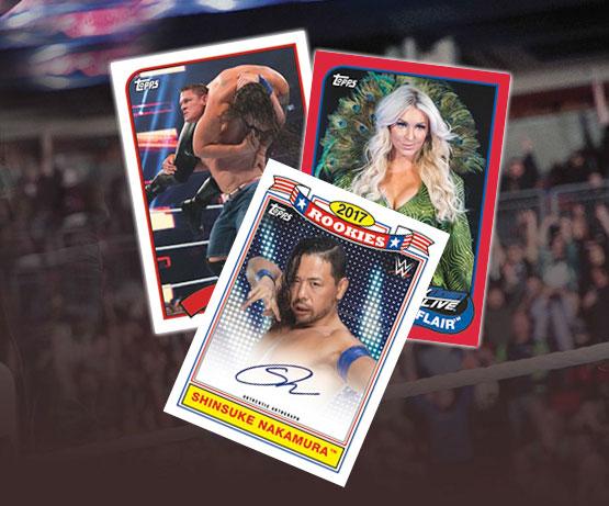 2018 Topps Heritage WWE