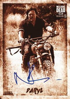 Walking Dead Season 6 Character Chase Card C-15 Aaron
