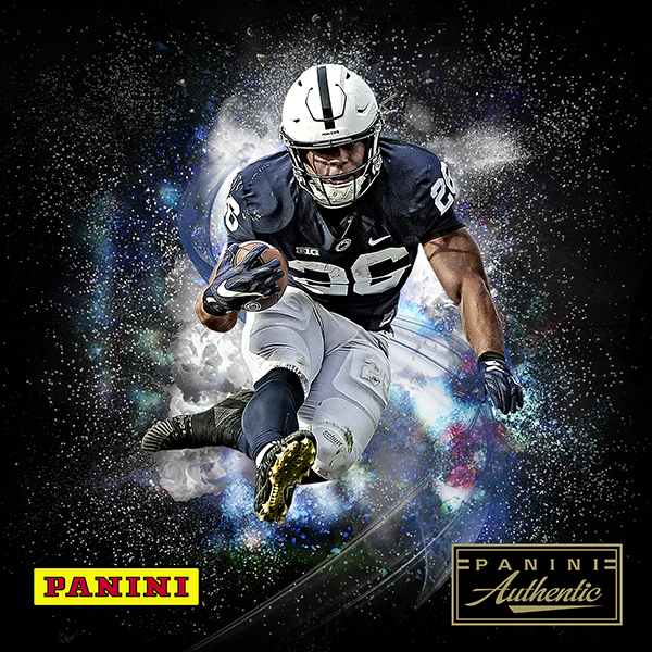 the best attitude e4116 e32d1 Saquon Barkley, Panini America Sign Exclusive Autograph Deal