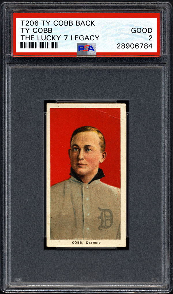 T206 Ty Cobb Lucky 7 Legacy