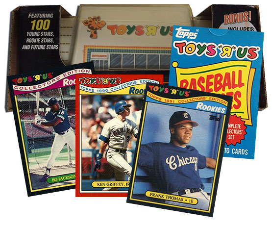 Topps Toys R Us Baseball Cards Of The 1980s And 90s