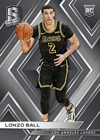 2017-18 Panini Spectra Basketball Lonzo Ball