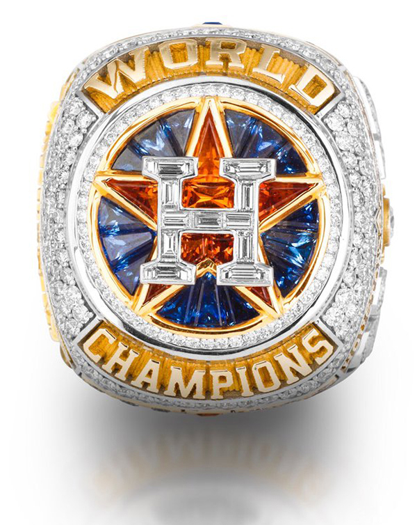 Houston Astros 2017 World Series Rings Details And Symbolism