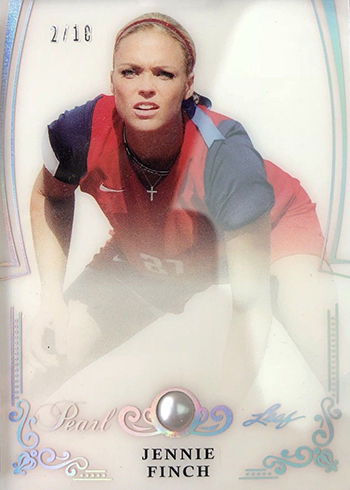 2017 Leaf Pearl Jennie Finch