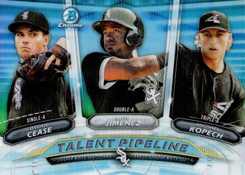 2018 Bowman Baseball Talent Pipeline