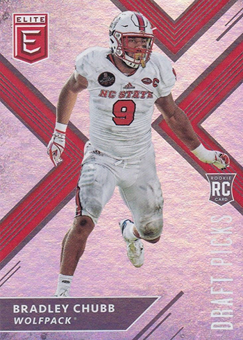 brand new a2314 5989a 2018 EDP FB 119 Bradley Chubb white jersey - Beckett News