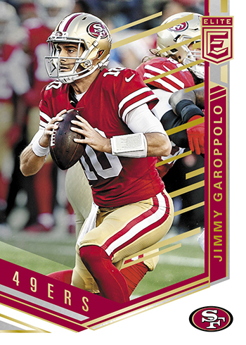 2018 Elite Football Jimmy Garoppolo
