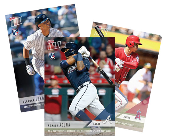 Whos Ready For Rookie Cards These 2018 Mlb Debuts