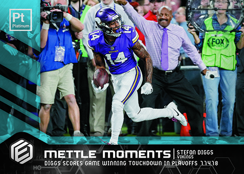 2018 Panini Elements Football Mettle Moments