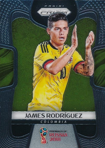 2018 Panini Prizm World Cup James Rodriguez