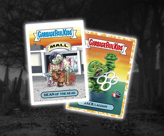 2018 Topps Garbage Pail Kids: Oh, the Horror-ible