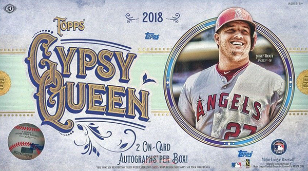 2018 Topps Gypsy Queen Hobby Box