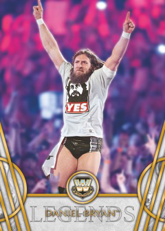 2018 Topps Legends of WWE Base Daniel Bryan