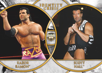 2018 Topps Legends of WWE Identity Crisis