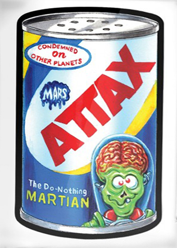 2018 Topps Mars Attacks Wacky Packages A