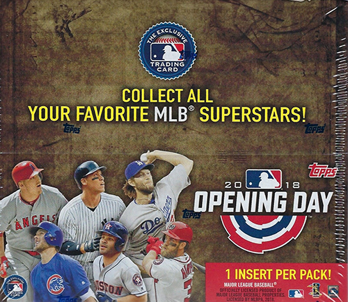 2018 Topps Opening Day Basebal Hobby Box