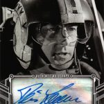 2018 Topps Star Wars Black and White Autographs Denis Lawson