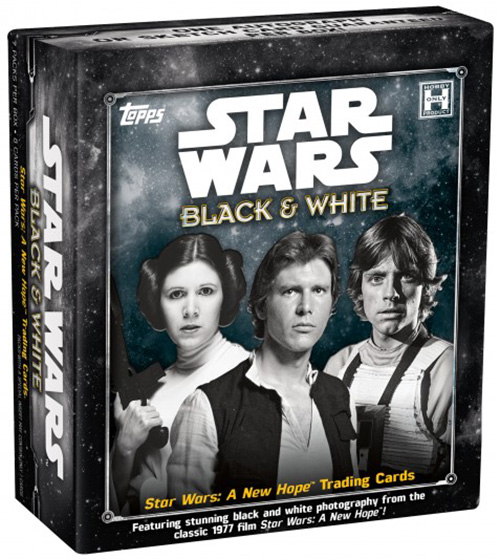2018 Topps Star Wars Black and White Box