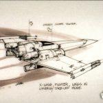 2018 Topps Star Wars Black and White Concept Art