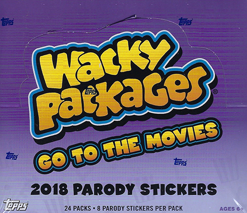 2018 Topps Wacky Packages Go to the Movies Box