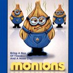 2018 Topps Wacky Packages Go to the Movies Monions