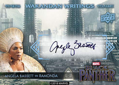 2018 Upper Deck Black Panther Autograph