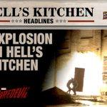 2018 Upper Deck Daredevil Seasons 1 and 2 Hells Kitchen Headlines A