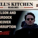 2018 Upper Deck Daredevil Seasons 1 and 2 Hells Kitchen Headlines B