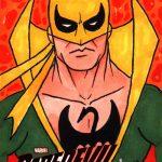 2018 Upper Deck Daredevil Seasons 1 and 2 Sketch Card Ruben Enriquez_1