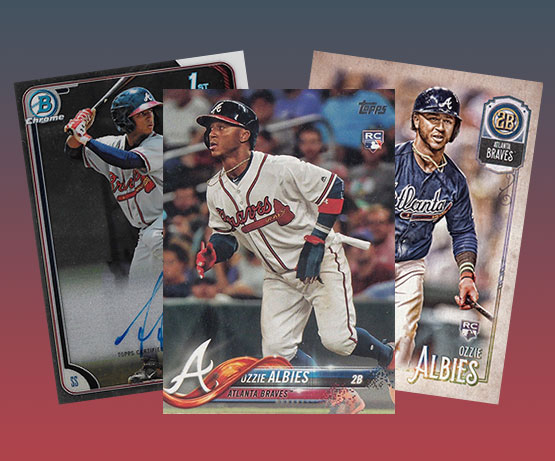 Ozzie Albies Rookie Cards