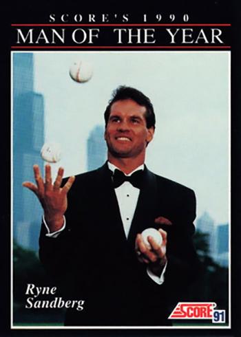 1991-Score-815-Ryne-Sandberg-Man-of-the-