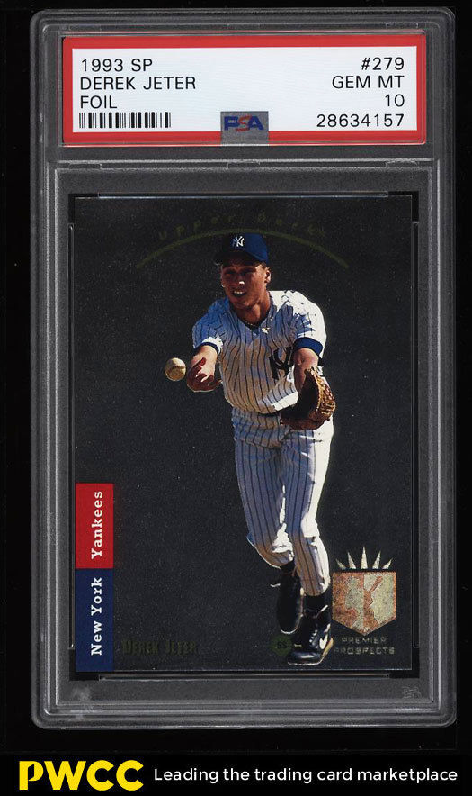 1993 SP Derek Jeter PSA 10 PWCC May-2018