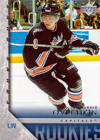 official photos 4fbba 0eda3 The Daily: 2005-06 Upper Deck Alexander Ovechkin RC ...