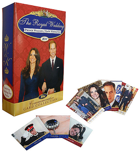 2011 Topps Royal Wedding Set