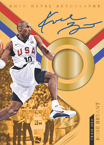 2017-18 Panini Opulence Basketball Gold Metal Autographs