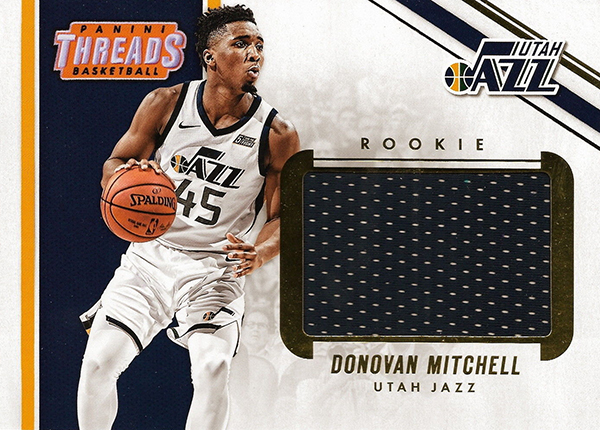a441ee7f1ba The 5 x 7 box toppers are the only additional cards on the 2017-18 Panini  Threads Basketball checklist