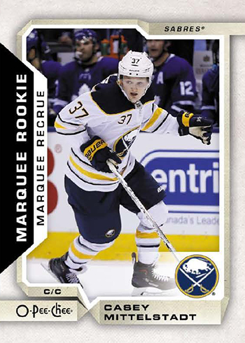 2018-19 O-Pee-Chee Hockey Base Marquee Rookie