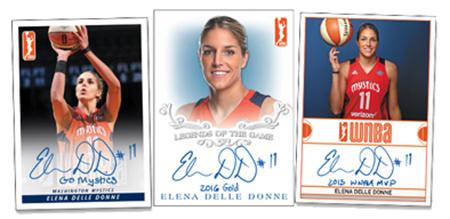 2018 Rittenhouse WNBA Elena Della Donne Autographs