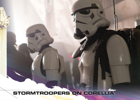 2018 Topps Countdown to Solo 24 Stormtroopers on Corellia