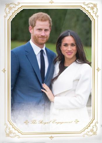 Royal Wedding Photos 2018.2018 Topps On Demand Royal Wedding Trading Cards Checklist Details