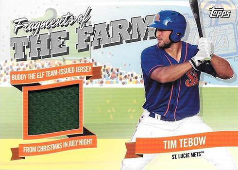 2018 Topps Pro Debut Fragments of the Farm Tim Tebow