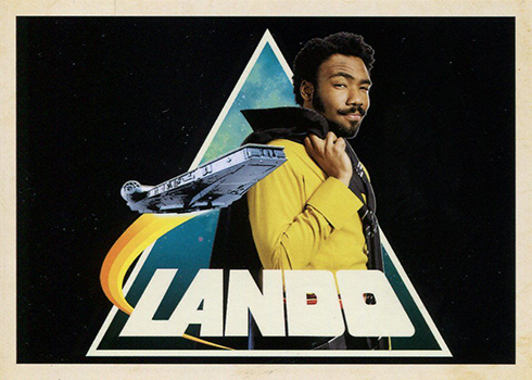 2018 Topps Solo Star Wars Story Icons Lando
