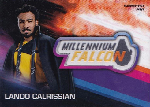 2018 Topps Solo Star Wars Story Manufactured Patch Lando Calrissian